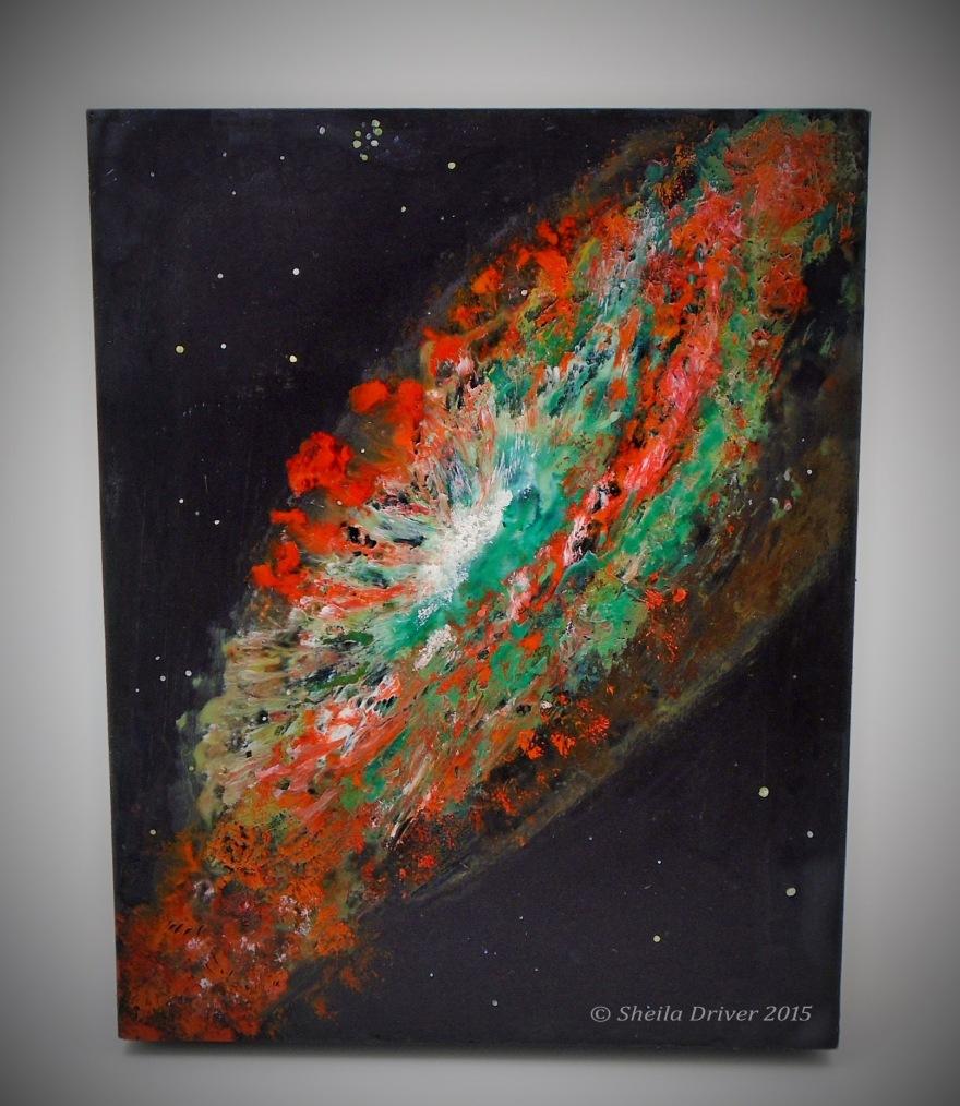 Title: Starburst Galaxy