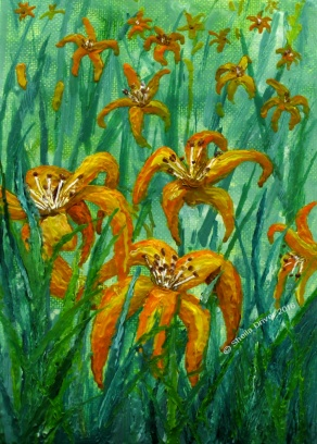 "Day 14: ""Tiger Lilies"""